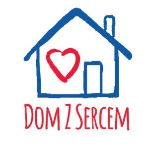 Logo dom z sercem
